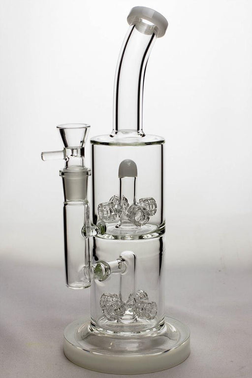 12 in. mini-barrel diffuser glass water bong - Bong outlet Canada