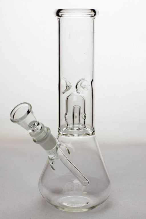 "8"" clear single dome percolator beaker water bong - Bong outlet Canada"