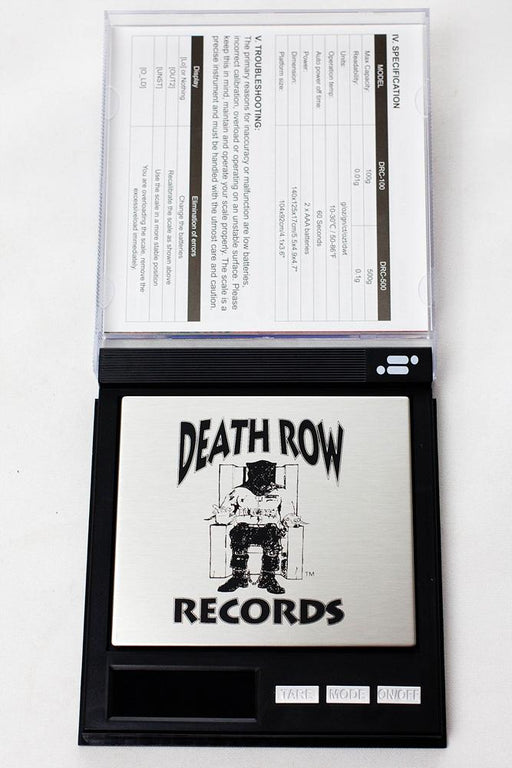 Infyniti DEATH ROW records DRCO 100  scale - Bong outlet Canada
