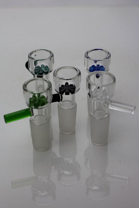 Built-in Glass Screen bowl for 14 mm joint - One wholesale Canada