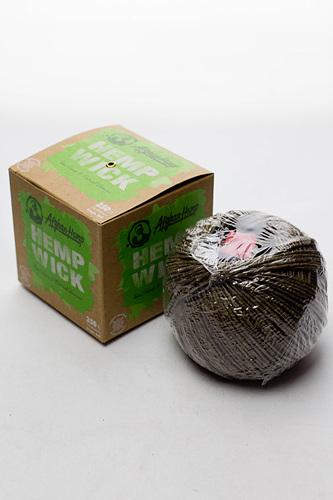 Afghan Hemp Hemp Wick 250ft - Bong outlet Canada