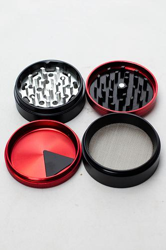 Infyniti 4 parts aluminium red grinder - One wholesale Canada