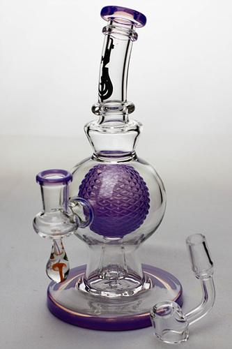 8 in. genie Sphere in a Sphere bubbler - Bong outlet Canada