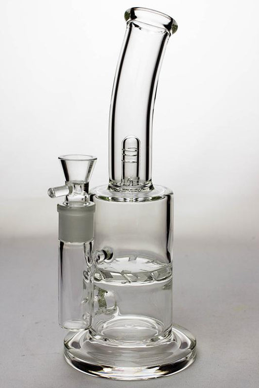 "10"" disc diffuser water bong with a splash guard - One wholesale Canada"