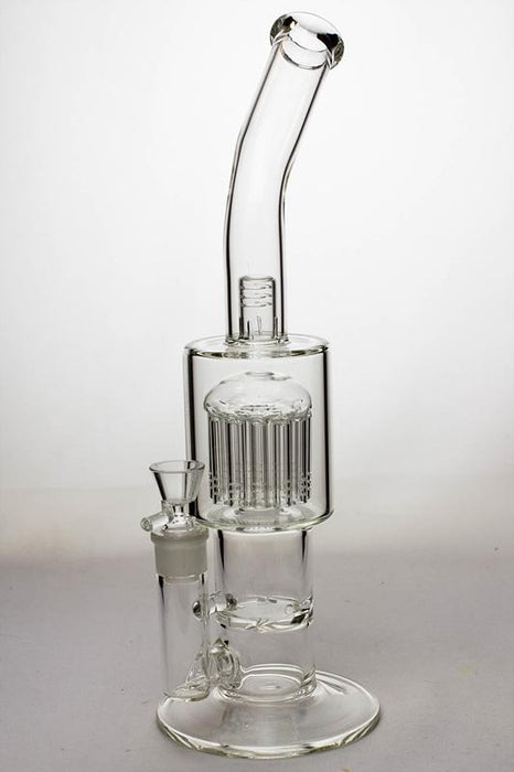 "13"" arms percolator and disc diffused bong with a splash guard - One wholesale Canada"