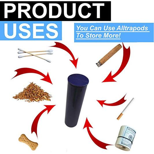 Alltrapod - Fully Smell Proof, Water Proof Containers - Bundle of 6 - One wholesale Canada