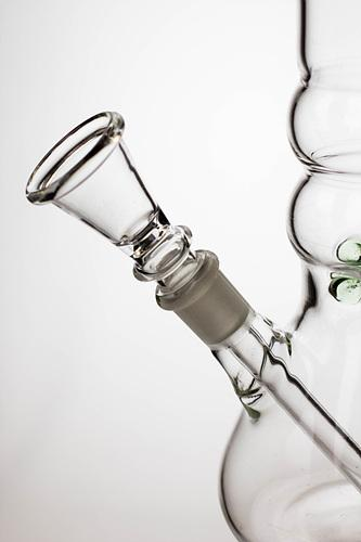 "10"" glass beaker water pipe - Leaf - Bong outlet Canada"