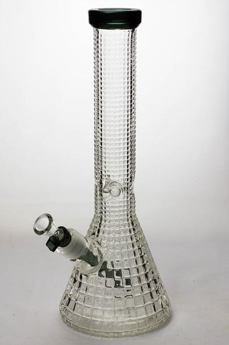 "15"" genie crystal shine glass water bong - Bong outlet Canada"