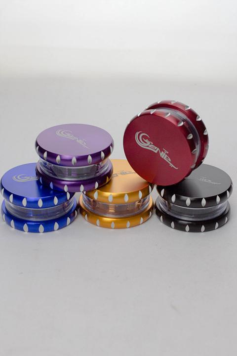 2 parts Genie aluminium herb grinder - One wholesale Canada