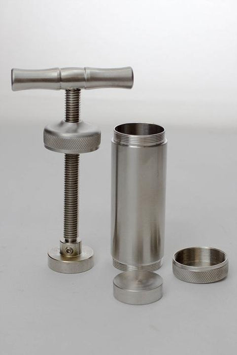 T Handle Metal Alloy Pollen Press Compress - One wholesale Canada