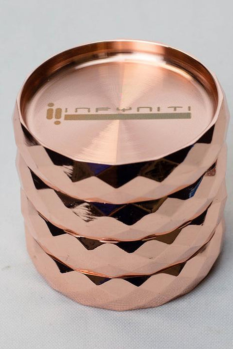 Infyniti 4 parts metal herb grinder 7506 - One wholesale Canada