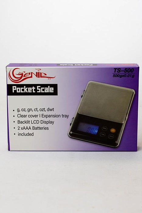 Genie TS-500 pocket scale - One wholesale Canada
