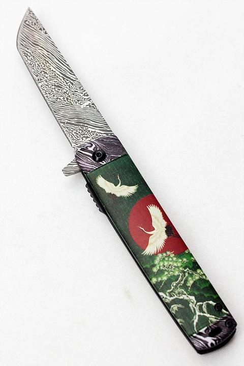 Snake Eye outdoor rescue hunting knife SE5052BU - One wholesale Canada