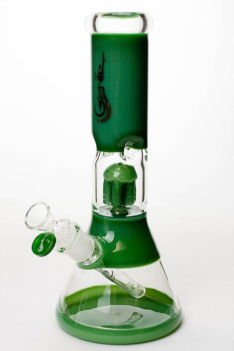 "11"" Genie short tree arms color tube water bong"