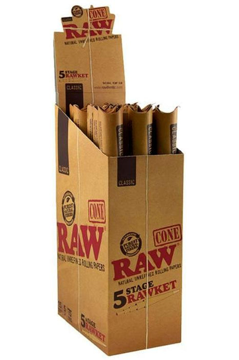RAW Natural Unrefined Pre-Rolled Cone - One wholesale Canada