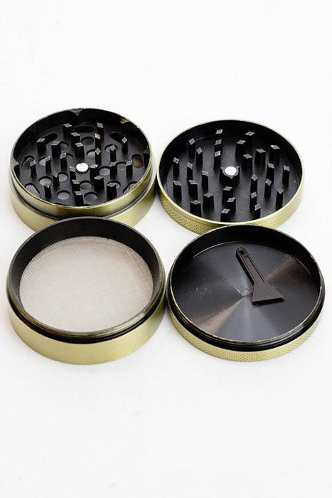 4 parts embossed Amsterdam Leaf grinder