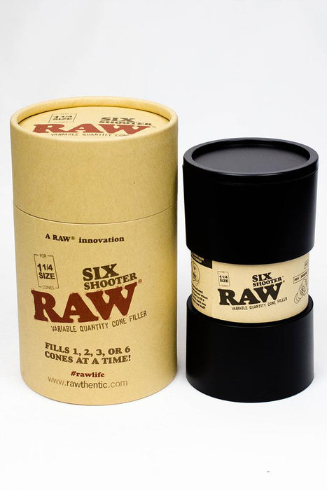 Raw six shooter for 1 1/4 size cones