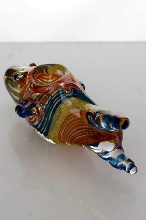 Fish shape glass hand pipe - Bong outlet Canada