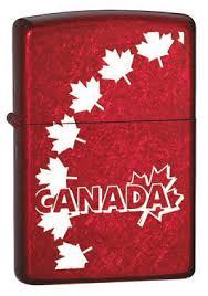 Zippo 61692-32126 Canada Maple Leaves - One wholesale Canada