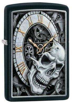 Zippo 29854 Skull Clock Design - One wholesale Canada