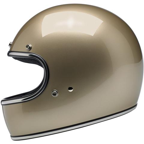 Biltwell Gringo ECE Approved Full Face Helmet - Metallic Champagne