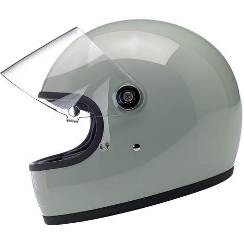 Biltwell Gringo S ECE Approved Full Face Helmet - Gloss Sage Green
