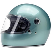 Biltwell Gringo S ECE Approved Full Face Helmet - Metallic Seam Foam