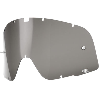 SMOKE REPLACEMENT LENS FOR 100% BARSTOW GOGGLES
