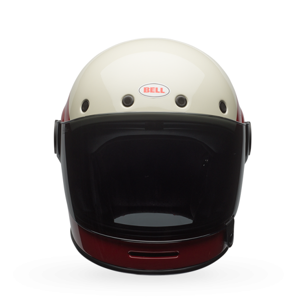 Bell Bullitt Triple Threat Red Black Full Face Helmet