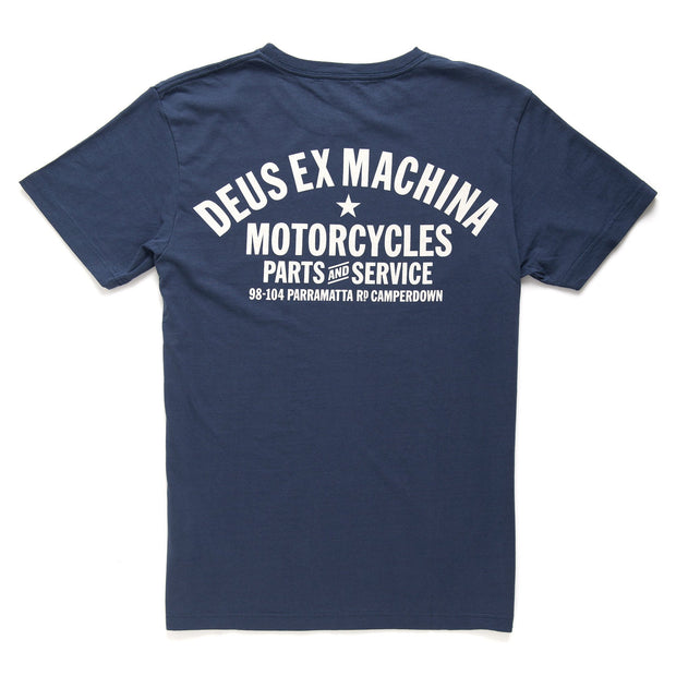 Deus Ex Machina Camperdown T-Shirt Navy
