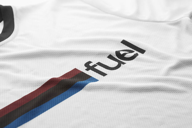 Fuel Rally Raid Jersey White