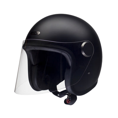 Hedon Epicurist Open Face Helmet Coal