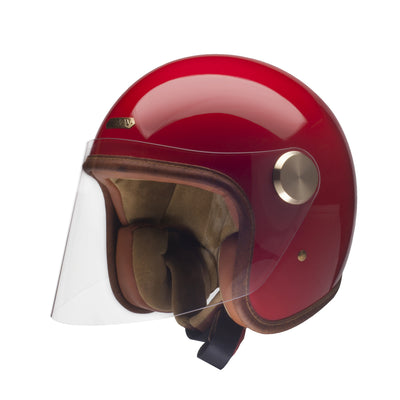 Hedon Epicurist Open Face Helmet Rouge