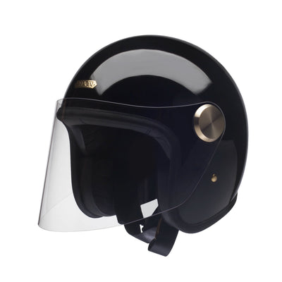 Hedon Epicurist Open Face Helmet Signature Black