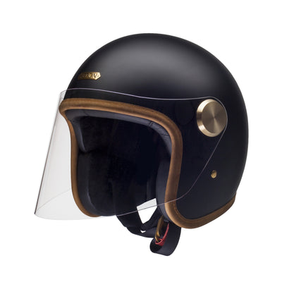 Hedon Epicurist Open Face Helmet Stable Black