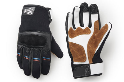 Fuel Rally Raid Gloves Black