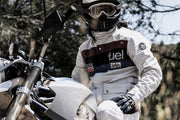 Fuel Rally Raid White Jacket