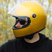 Biltwell Gringo S ECE Approved Full Face Helmet - Metallic Yukon Gold