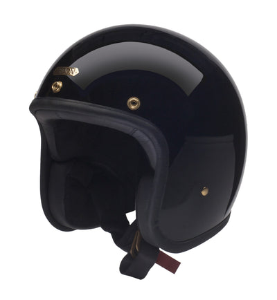 Hedon Hedonist Open Face Helmet Signature Black