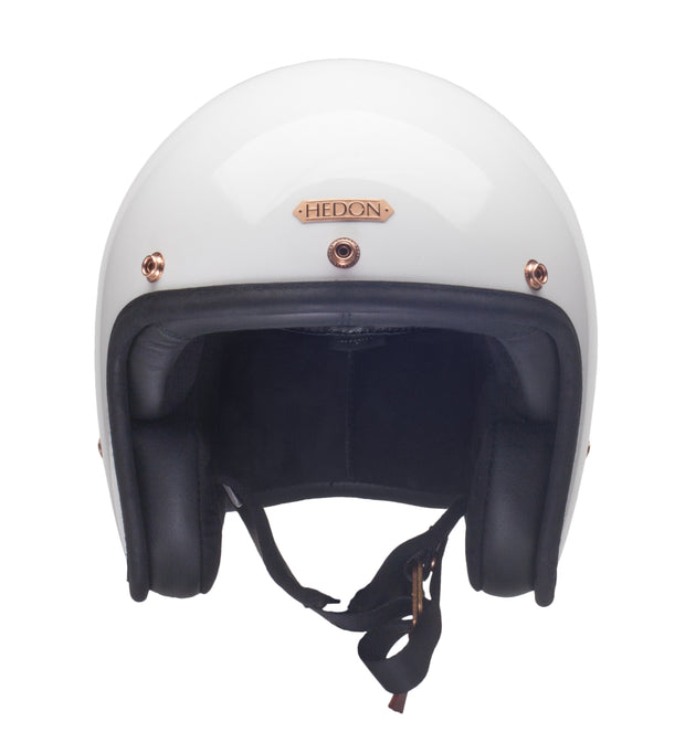 Hedon Hedonist Open Face Helmet Signature White