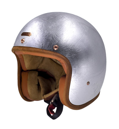 Hedon Hedonist Open Face Helmet Silver Linning