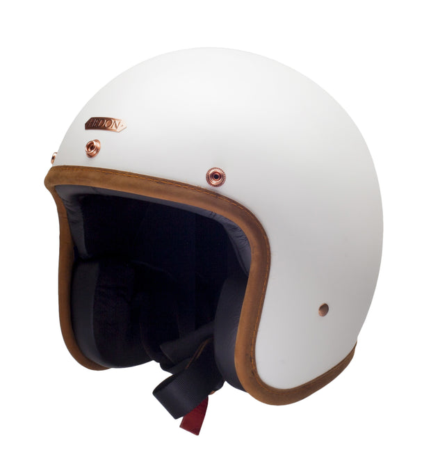Hedon Hedonist Open Face Helmet Stable White
