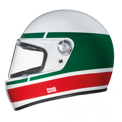 Nexx Full Face Helmet Record White Green X.G100R