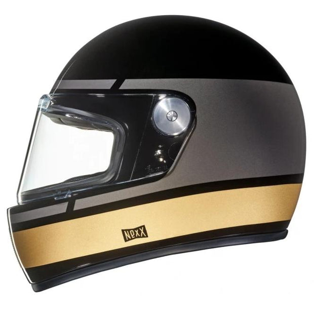 Nexx Full Face Helmet Record Black Grey X.G100R