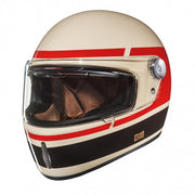 Nexx Full Face Helmet Record Cream Red X.G100R