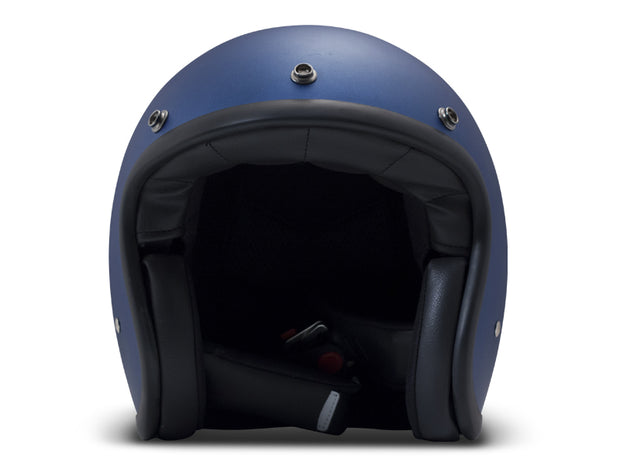 DMD Vintage Open Face Helmet Metallic Blue