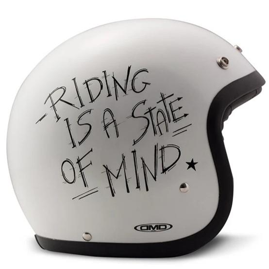 DMD Vintage Open Face Helmet Oldie