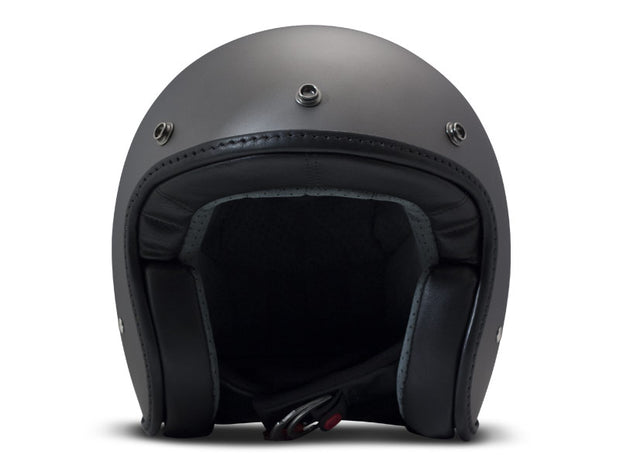 DMD Pillow Matt Grey-Black Open Face Helmet