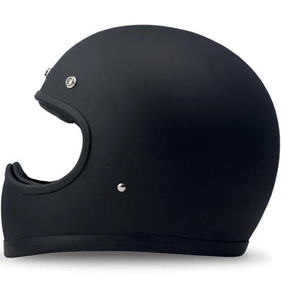 DMD Racer Full Face Helmet Flat Black