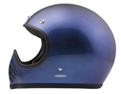 DMD Seventy Five Full Face Helmet  Metallic Blue